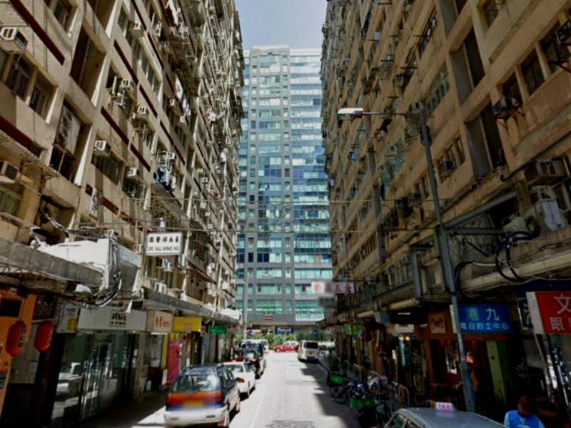 Man Ying Street in Yau Ma Tei in Kowloon Photo: Google Map