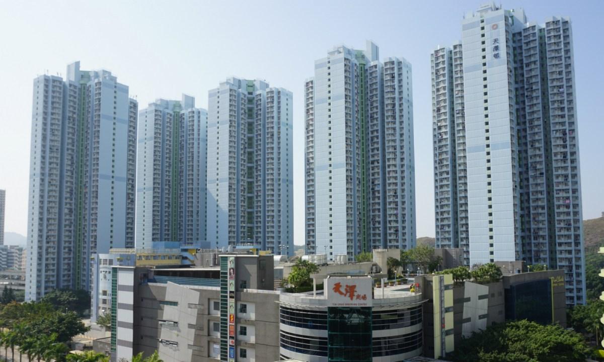 A public housing estate in Tin Shui Wai. Photo: Wiki Commons
