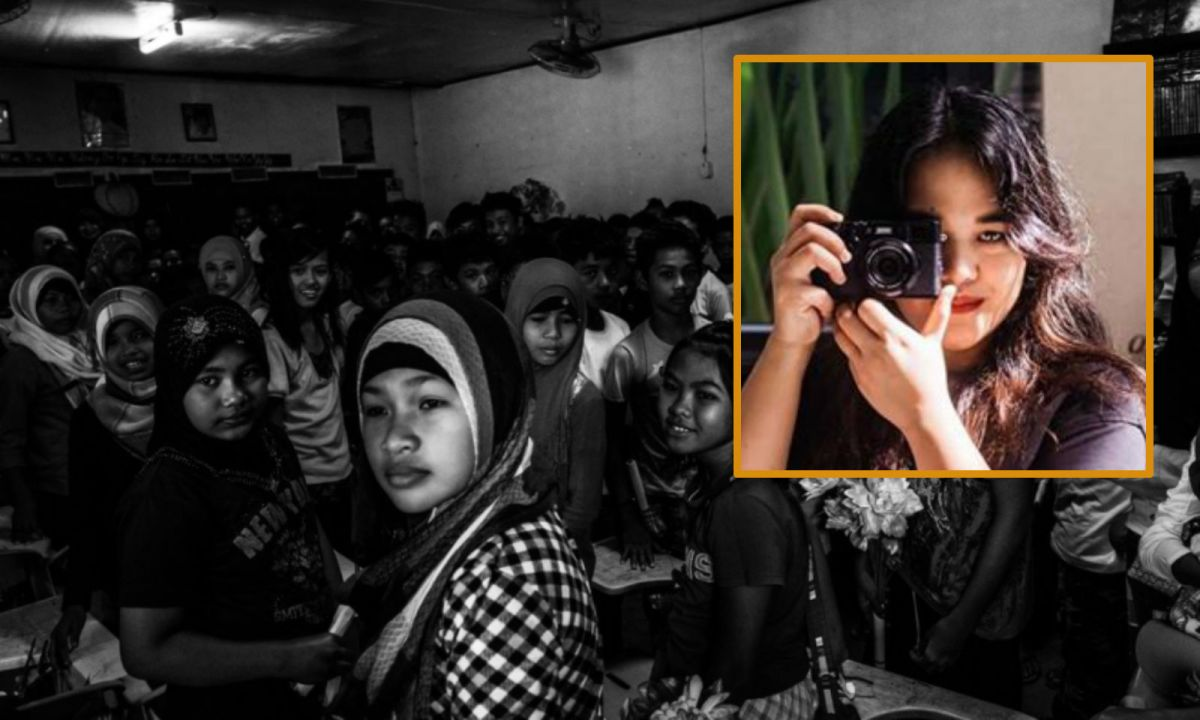 Xyza Cruz Bacani (inset) portraits people on Hong Kong streets, including foreign maids and ethnic minorities, in her photography. Photo:  Photo District News / Instagram