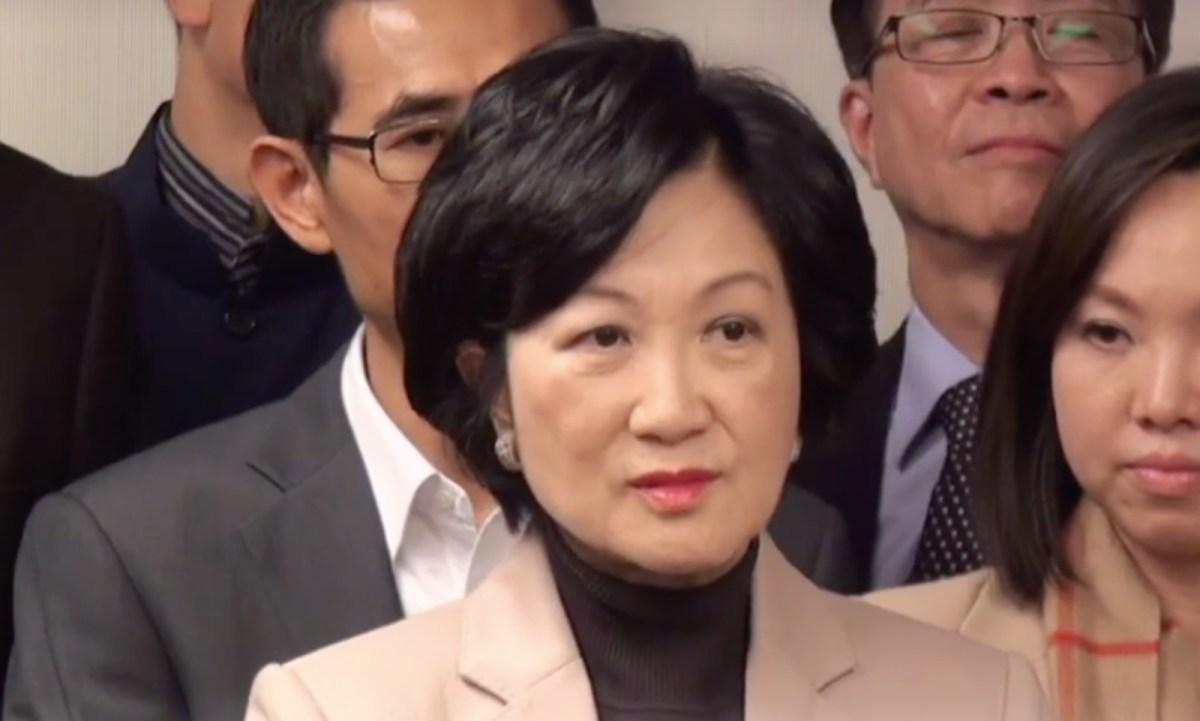 Lawmaker Regina Ip Lau Suk-yee Photo: Facebook / Regina Ip