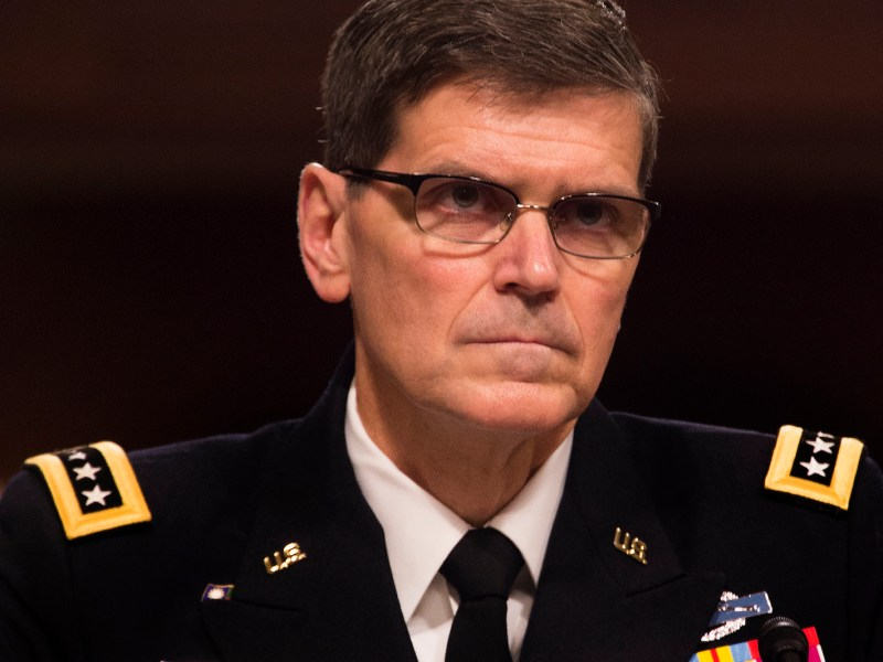 US Army General Joseph Votel told the Senate Armed Services Committee last week that he believes Iran poses the greatest long-term threat to stability in the Middle East. He said the US must find ways to address the root causes of instability to engender lasting positive results in the region. Photo: AFP/Jim Watson