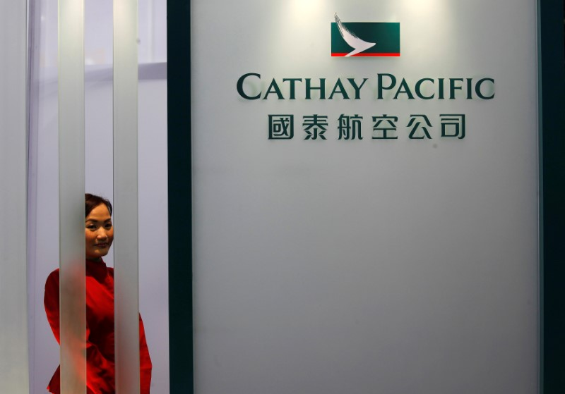 Cathay Pacific has partnered with Accenture to launch a blockchain-based component for its Asia Miles rewards program.  Photo: Reuters