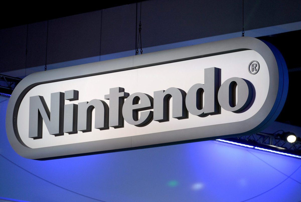 FILE PHOTO: Nintendo signage is displayed at the company's booth at the 2014 Electronic Entertainment Expo, known as E3, in Los Angeles, California June 11, 2014.   REUTERS/Kevork Djansezian/File Photo                       GLOBAL BUSINESS WEEK AHEAD    SEARCH GLOBAL BUSINESS 24 APR FOR ALL IMAGES