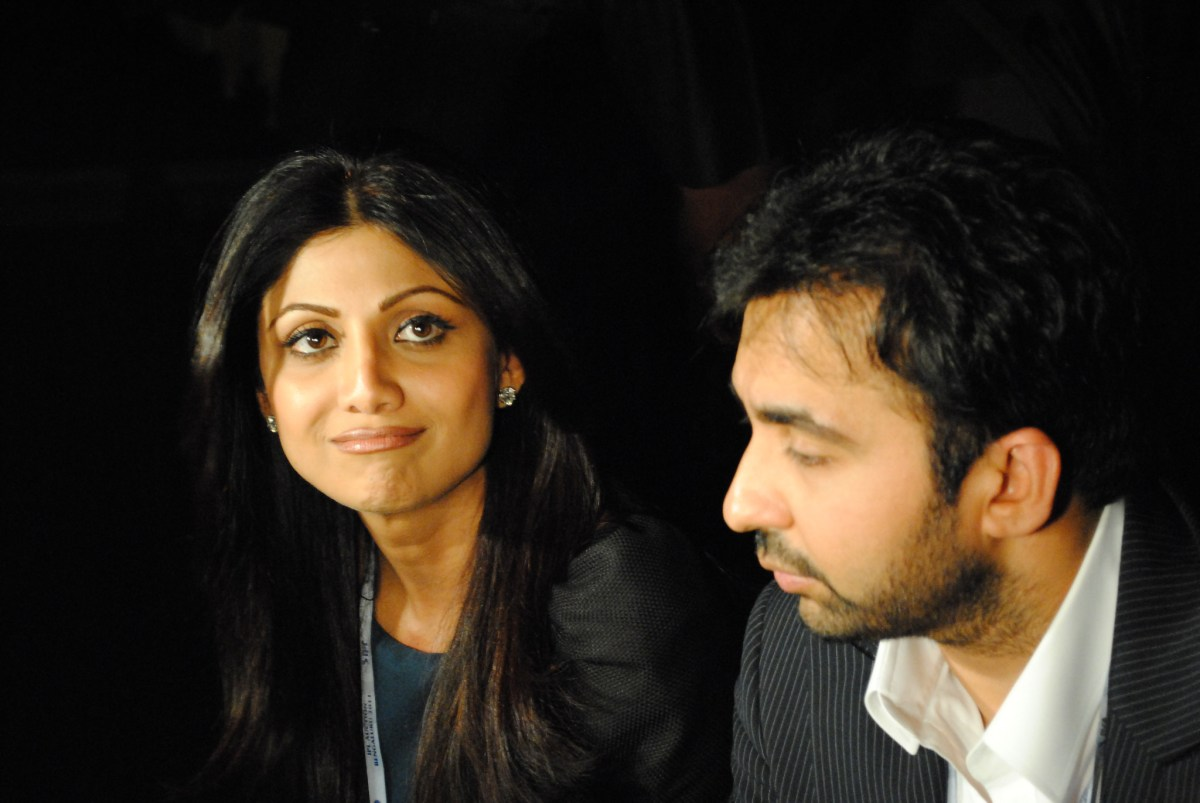 Bollywood actress Shilpa Shetty and her husband Raj Kundra. Photo: Flickr