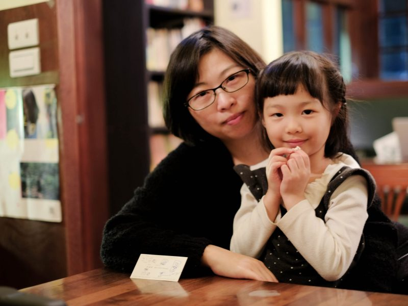 Director Huang Hui-chen with her daughter Ping. Photo: Asia Times