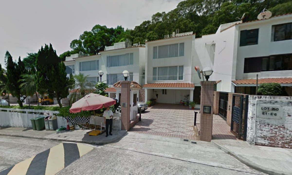 Las Pinadas villa complex on Clearwater Bay Road in Sai Kung. Photo: Google Map