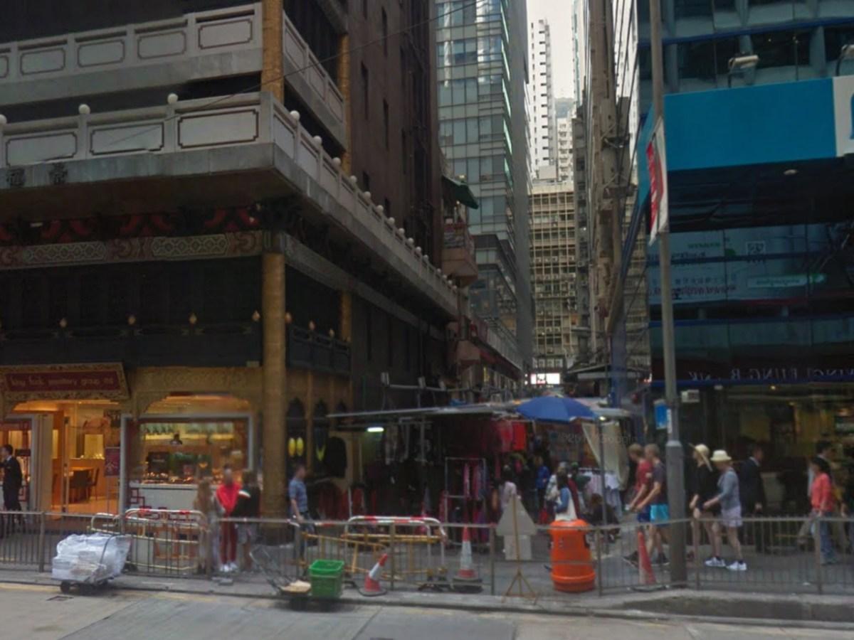 Li Yuen Street East, Central, Hong Kong. Photo: Google Map