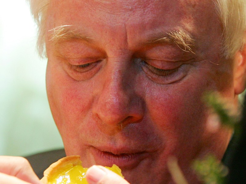 Tuck in Lord Patten! The cost of your favorite custard tarts is lagging behind the average 3.9% wage rise. Photo: Reuters