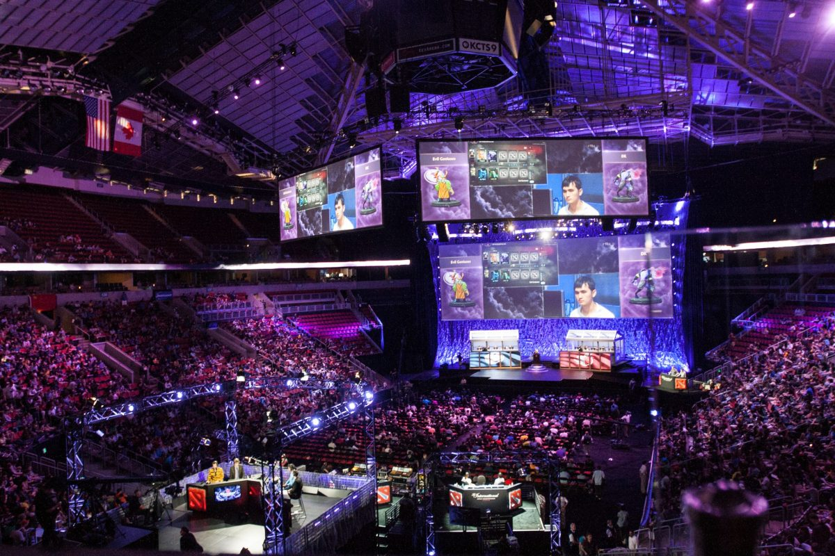 An eSport league is set to draw huge crowds in Taipei this weekend. Photo: Wikimedia Commons