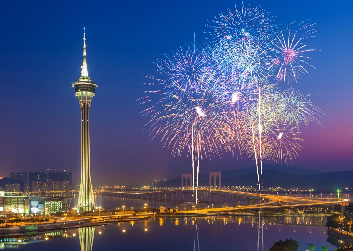 Macau Fireworks China