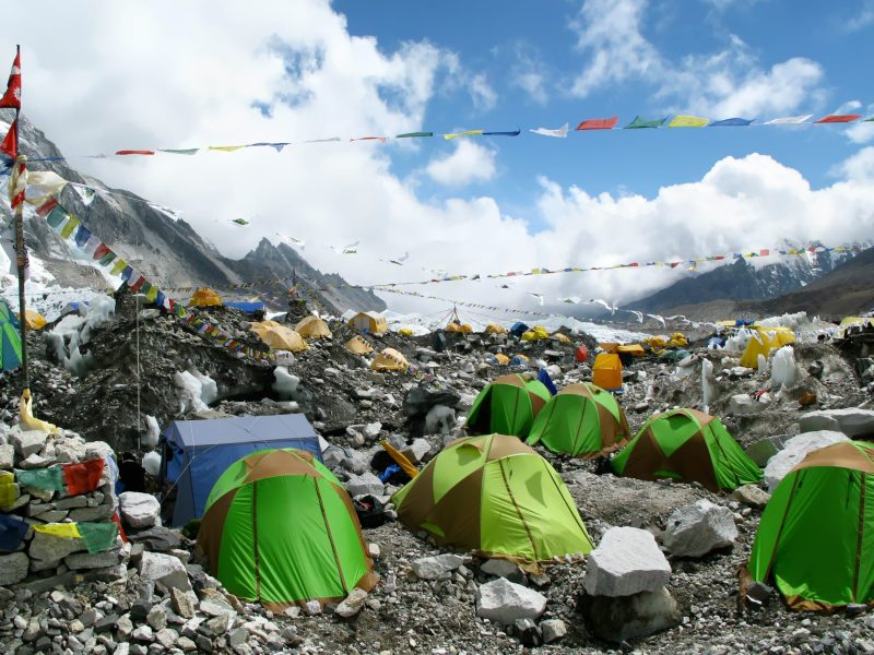 Everest base camp in Nepal. Photo: iStock