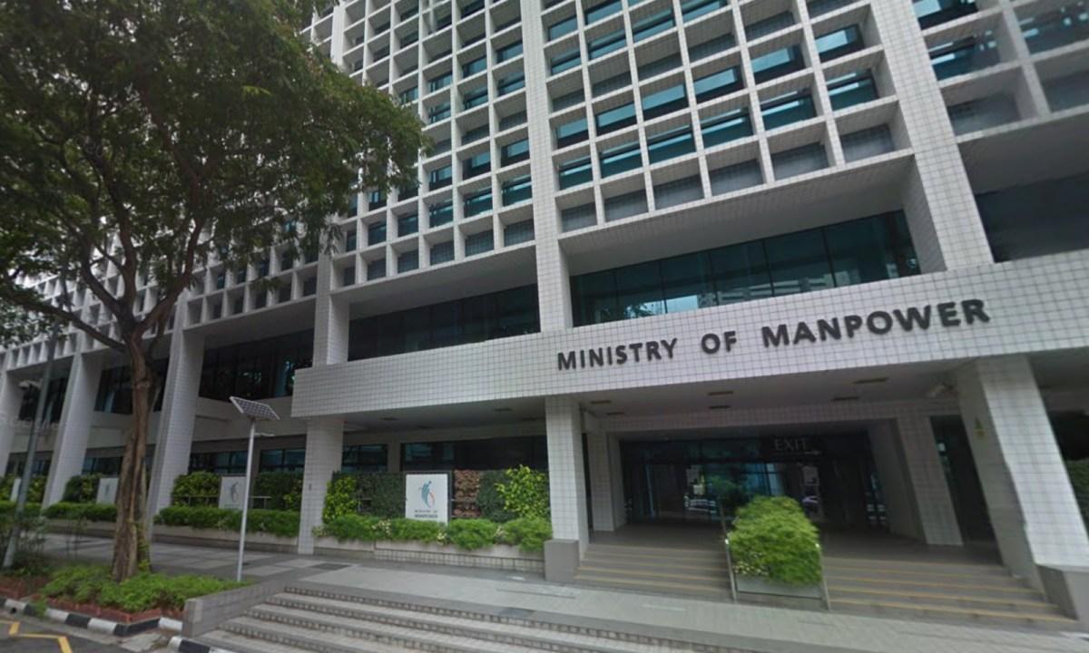 Ministry of Man Power, Singapore Photo: Google Map