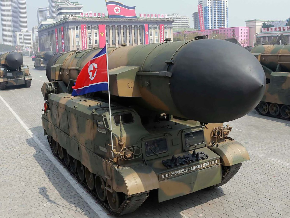 Part of North Korea's missile arsenal. Photo:  AFP/North Korean Central News Agency