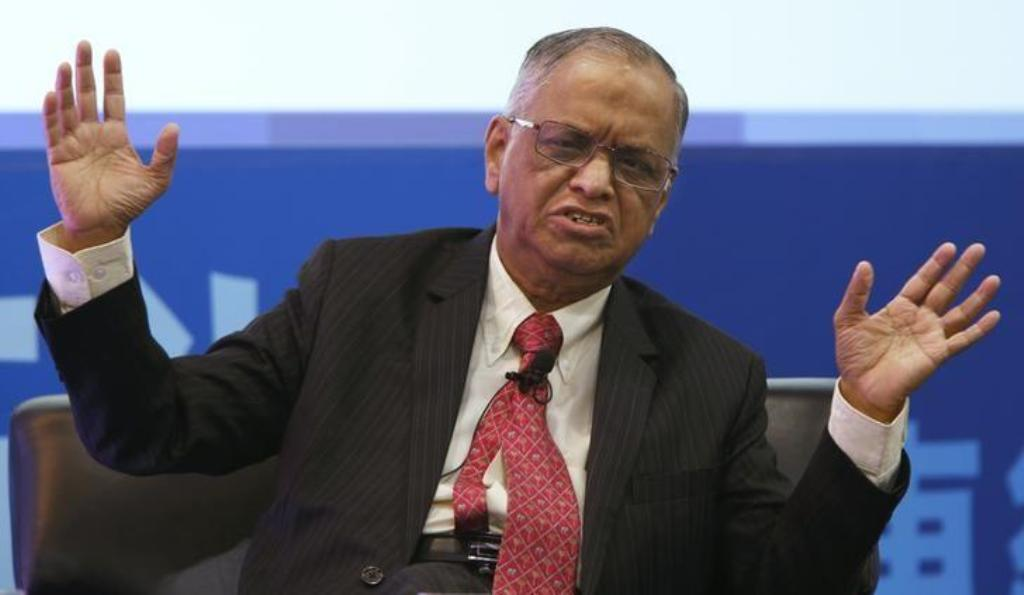 Infosys founder N. R. Narayana Murthy. Photo:  Reuters