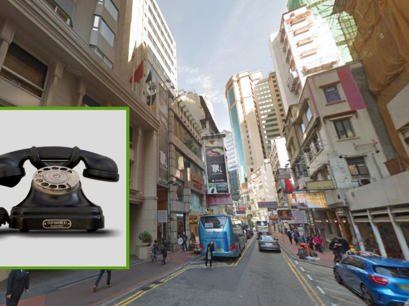 A woman, who was living on Kimberley Road in Tsim Sha Tsui, was cheated HK$4 million in a phone scam. Photo: Wikimedia Commons, Google Map