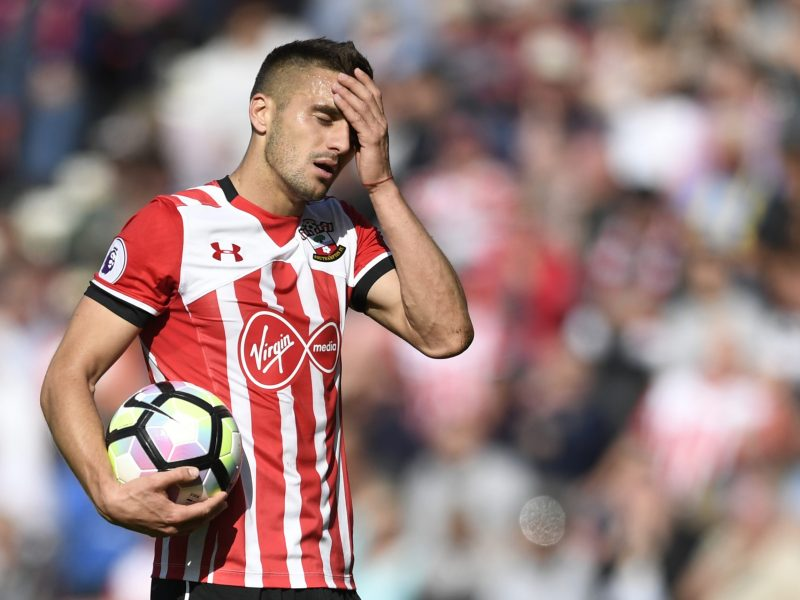 Here we go again...  Southampton's Dusan Tadic seen here during a match with Hull City, both teams at the center of controversial Chinese takeover discussions. Photo: Reuters / Tony O'Brien Livepic