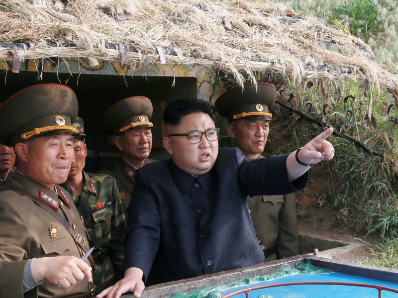 North Korean leader Kim Jong Un. Photo: KCNA via Reuters