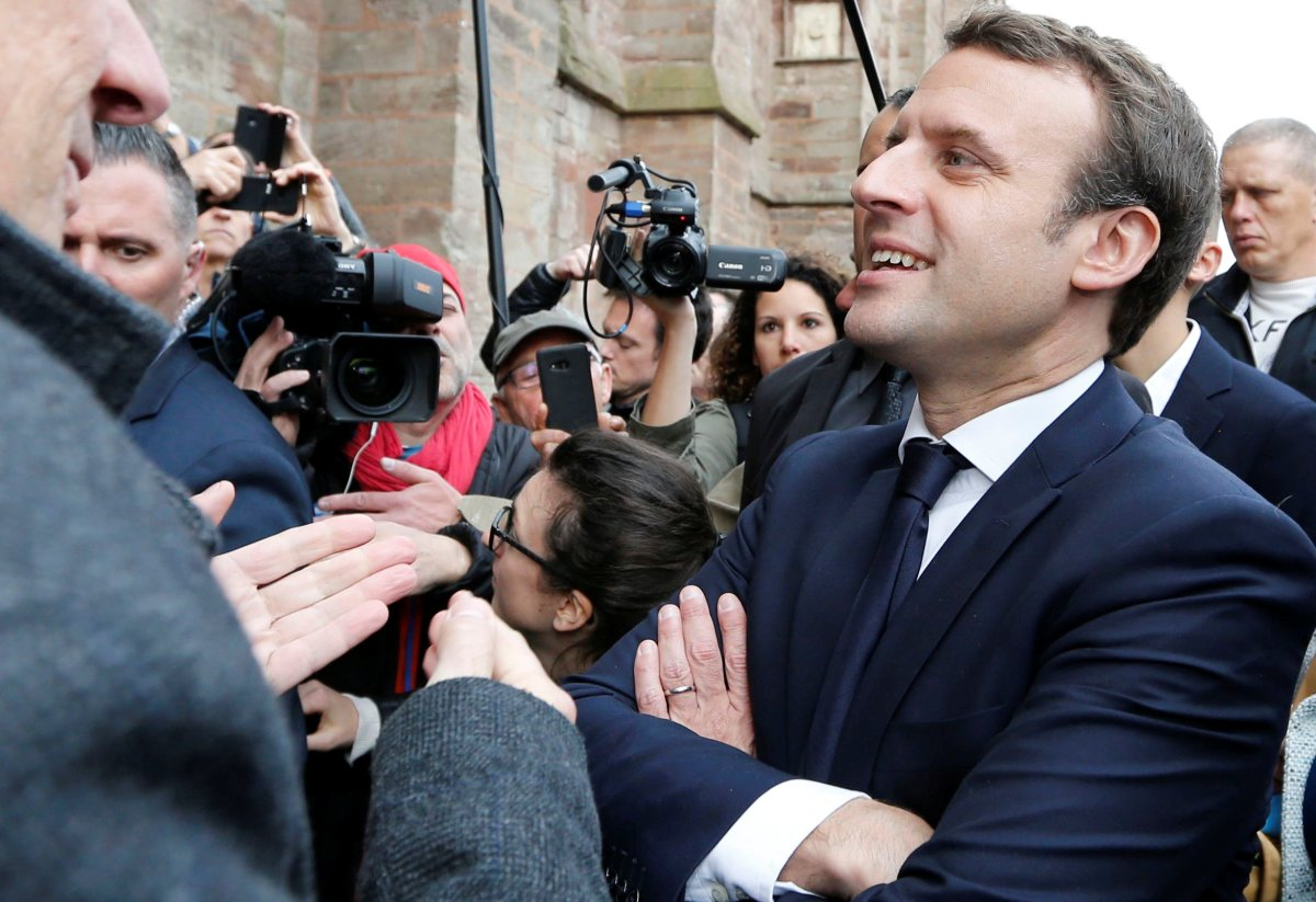 French President-elect Emmanuel Macron. Photo: Reuters, Regis Duvignau