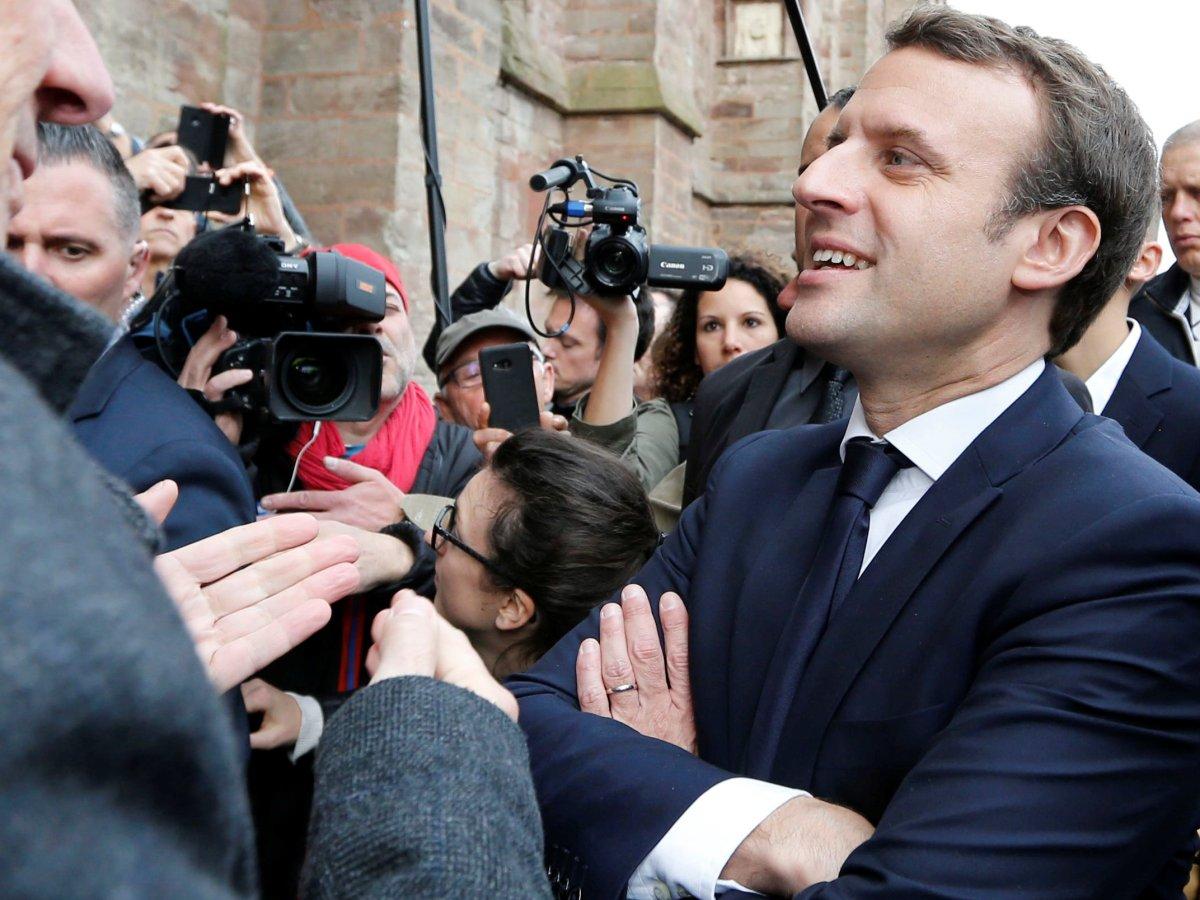 French President-elect Emmanuel Macron. Photo: Reuters, Regis Duvignau