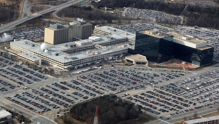 The NotPetya malware attack leveraged a tool built by the US National Security Agency. Photo: Reuters/Larry Downing