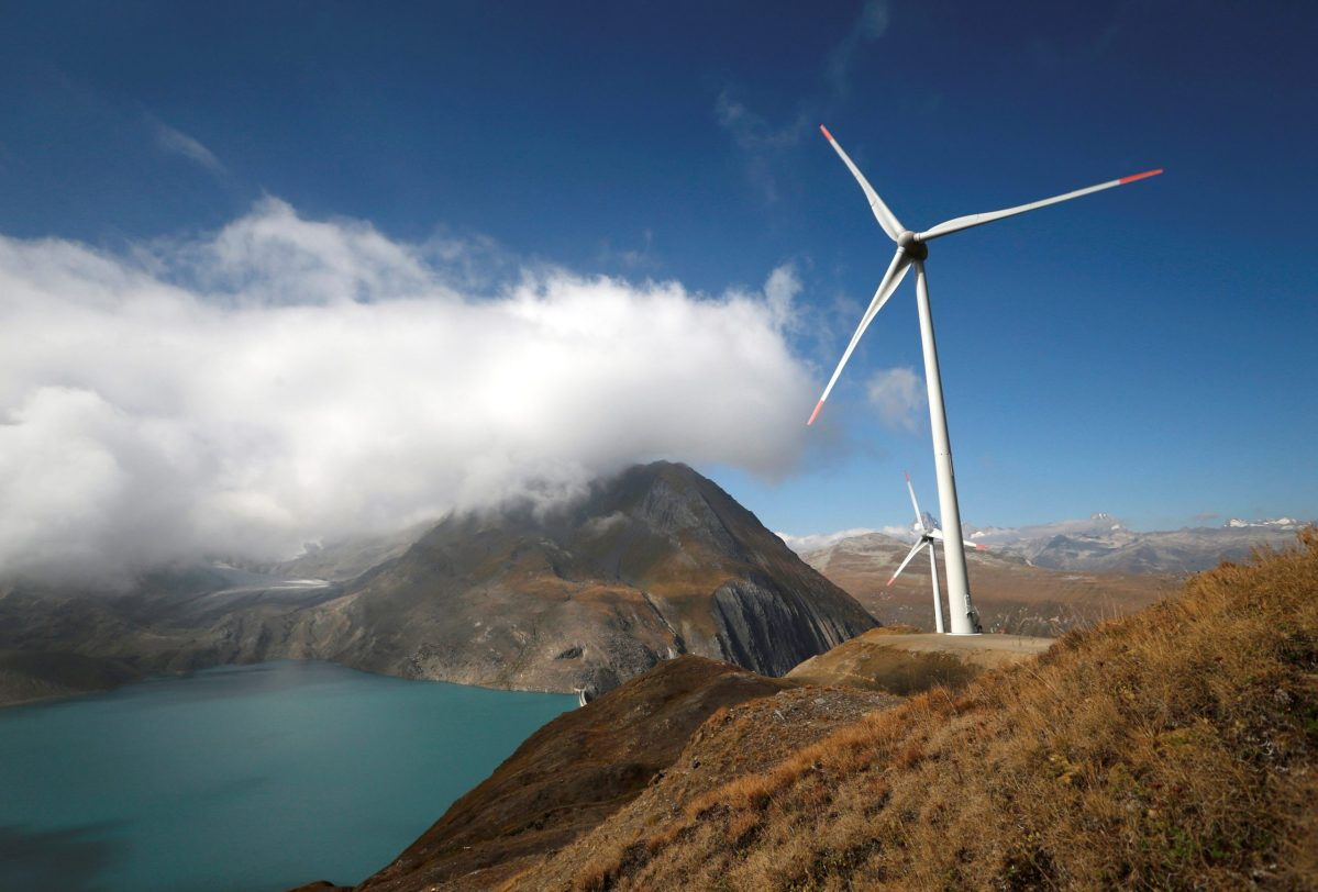 More wind farms to US coal country? Photo:Reuters/Denis Balibouse