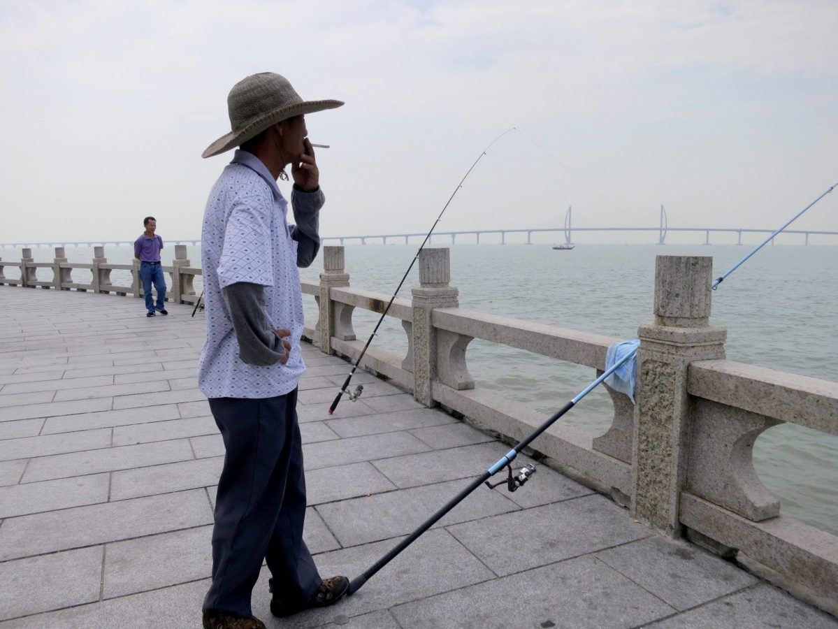 Hooked... the waters of PBOC monetary policy run deep and are murky. Who knows where the big fish are swimming. Photo: Reuters