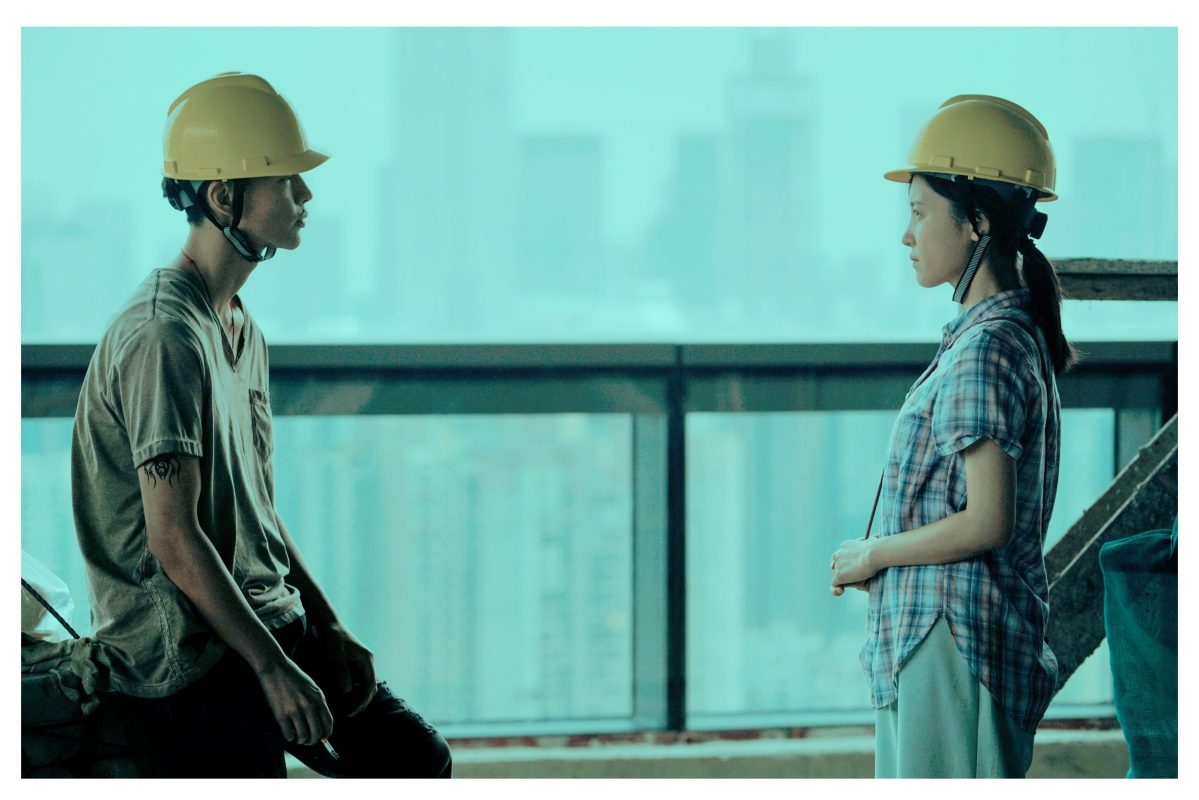 Walking Past the Future, starring Yang Zishan(right) and Fang Yin(left) by director Li Ruijun. Photo: Cannes