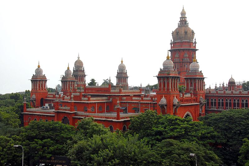 The Madras High Court in Chennai. Photo: Wikipedia