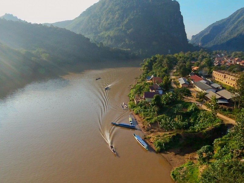 Laos faces a dilemma whether to promote eco-tourism or faster trade with China along its picturesque rivers and tourist-friendly towns. Photo: iStock/Getty Images