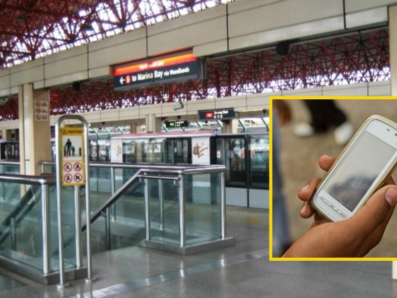 Platform of Jurong East MRT Station, Singapore Photo: Wikimedia Commons