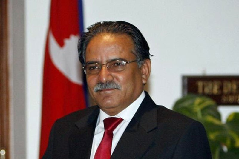 Nepal Prime Minister Pushpa Kamal Dahal 'Prachanda' resigned on Wednesday keeping his word but leaving his job unfinished. Photo/Reuters/Files