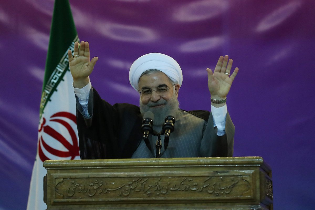 Iranian President Hassan Rouhani. Photo: Handout via Reuters