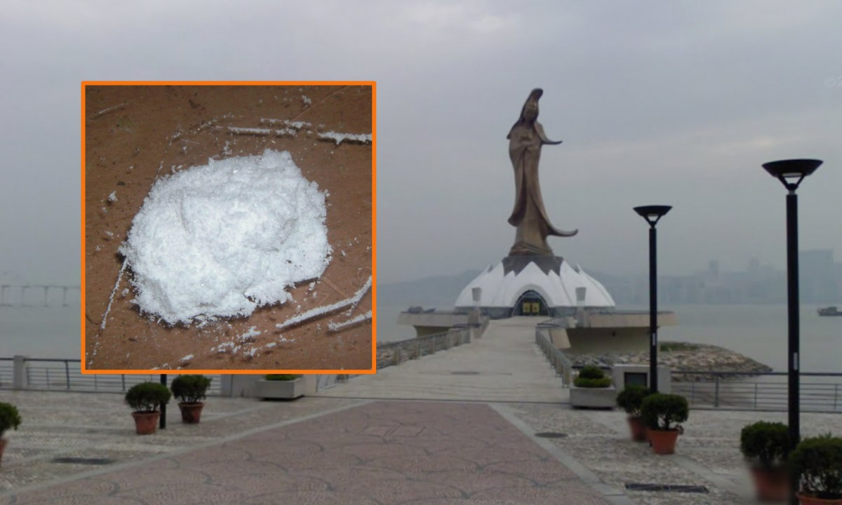A Filipino man was recovered three packets of ketamine in a certain casino in the Nape area. Photos: Google Maps, Wikimedia Commons