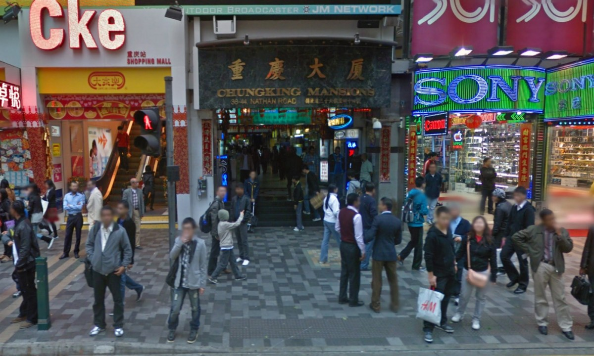 Chungking Mansions in Tsim Sha Tsui. Photo: Google Maps
