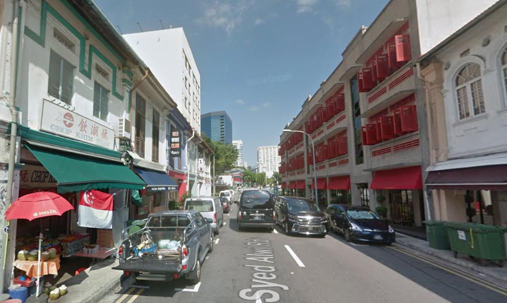 Syed Alwi Road, Singapore Photo: Google Maps