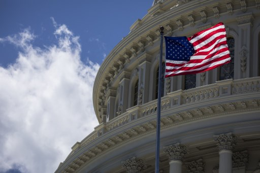 A view of the US Capitol building in Washington. Photo: AFP/Samuel Corum