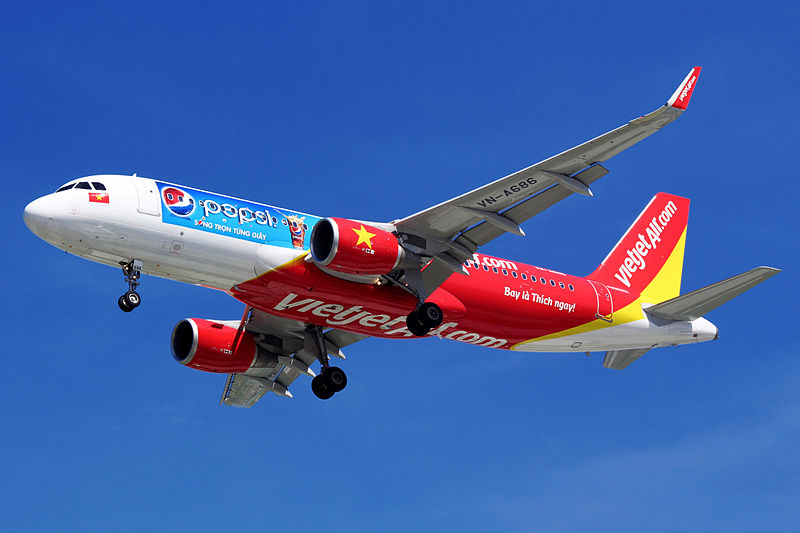 Vietnam's Vietjet is flying high after a successful public offering in February.  Photo: Wikipedia Commons