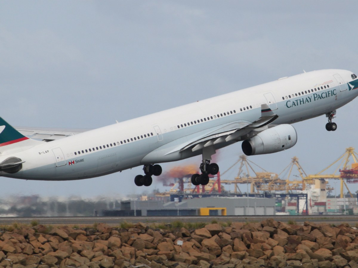 Cathay Pacific A330 airbus Photo: Wikimedia Commons