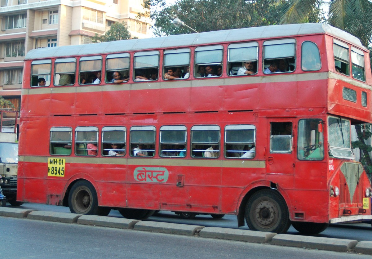A double-decker bus in Mumbai in 2005. They were taken out of service in Bangalore in 1997. Photo: iStock