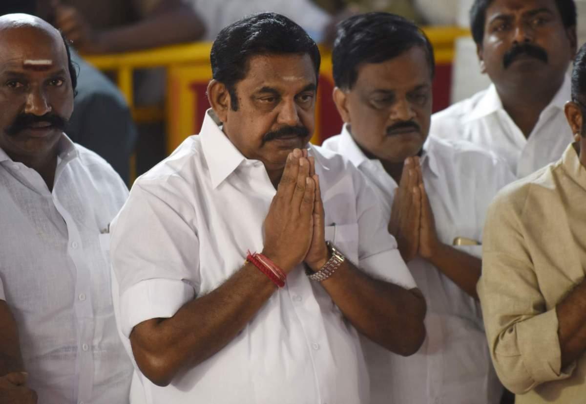 Tamil Nadu chief minister Edappadi K Palaniswami. Photo: Arun Sankar / AFP