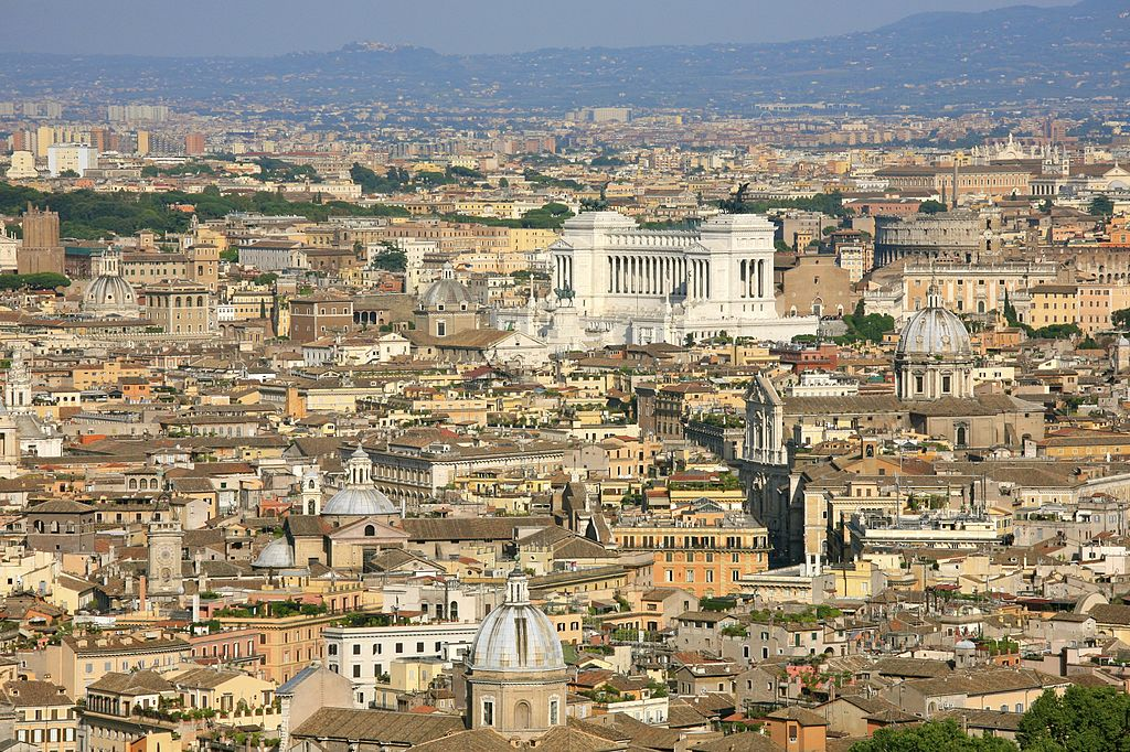 View of Rome. Photo: Wikipedia Commons