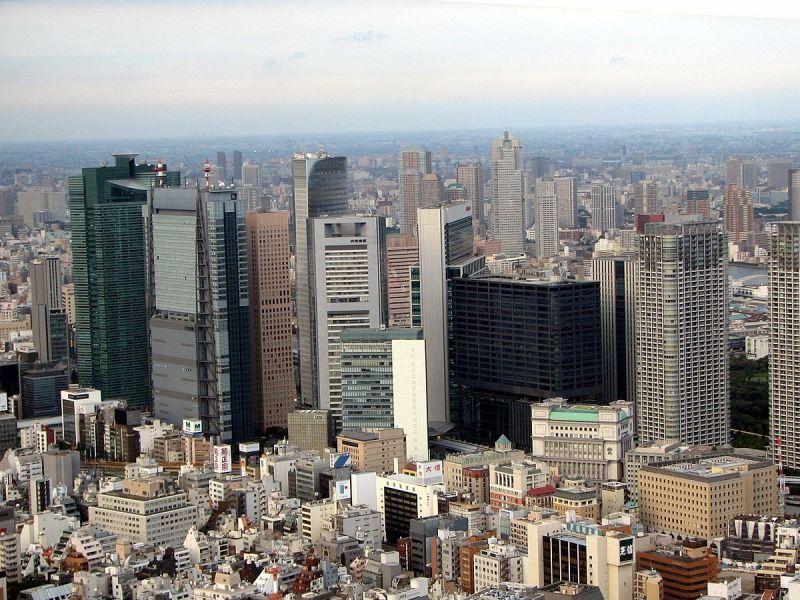 Minato, Tokyo. Photo: Wikipedia
