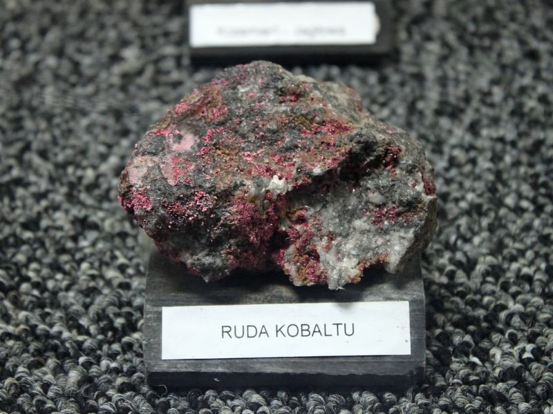 Cobalt ore. Photo: Wikimedia Commons