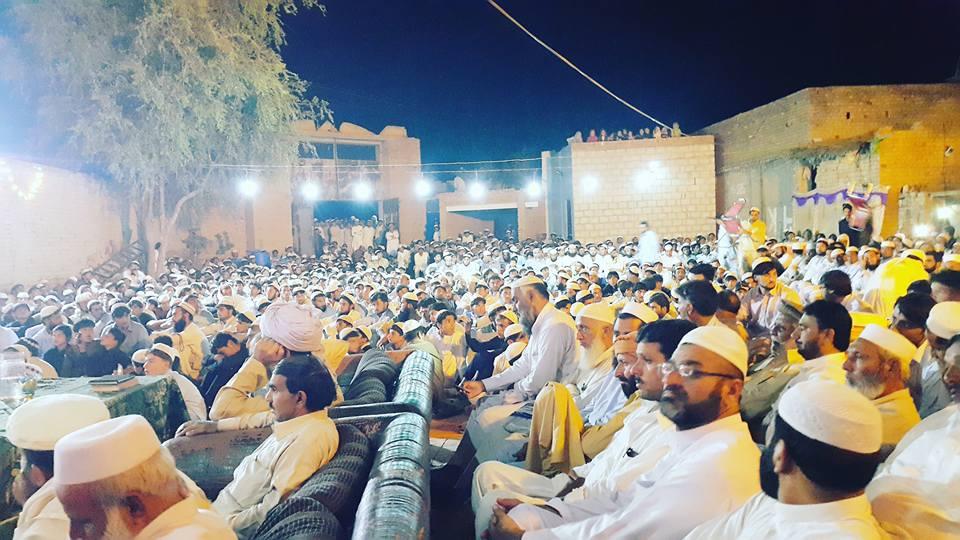 A peace poetry gathering in Khyber Pakhtunkwa. Photo: Wehmi Aurakzai