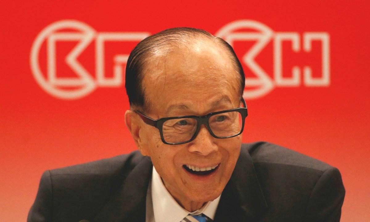 Li Ka-shing. Photo: Reuters/Bobby Yip