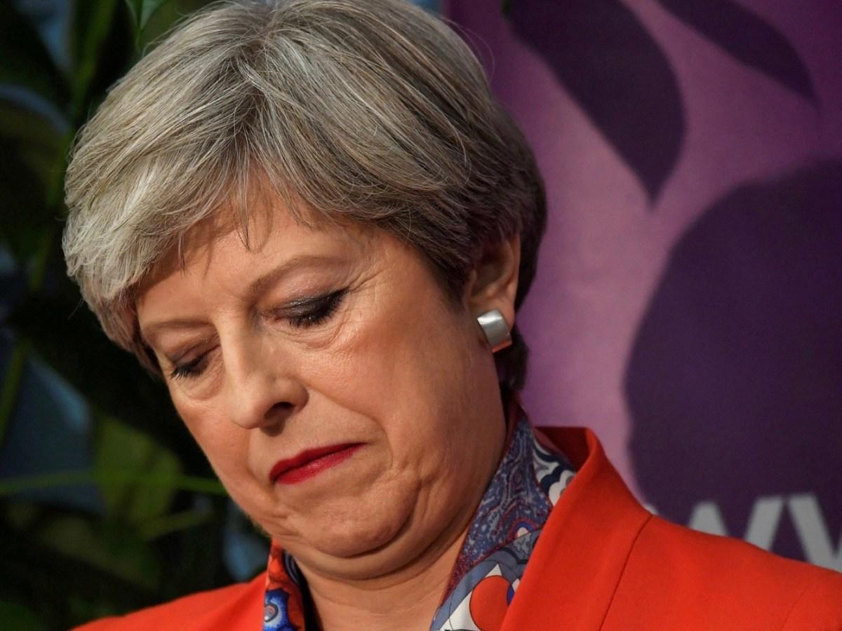 British Prime Minister Theresa May. Photo: Reuters