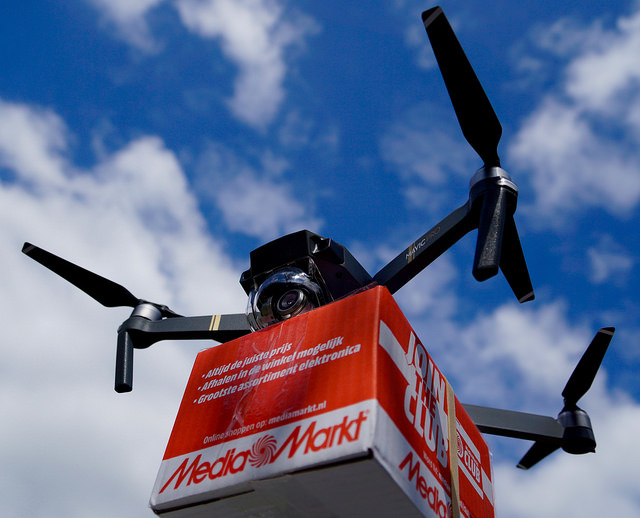 A delivery drone. Photo: Flickr Commons
