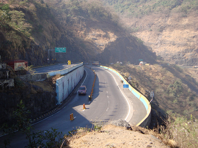 The Mumbai-Pune Expressway. Photo: Flickr Creative Commons