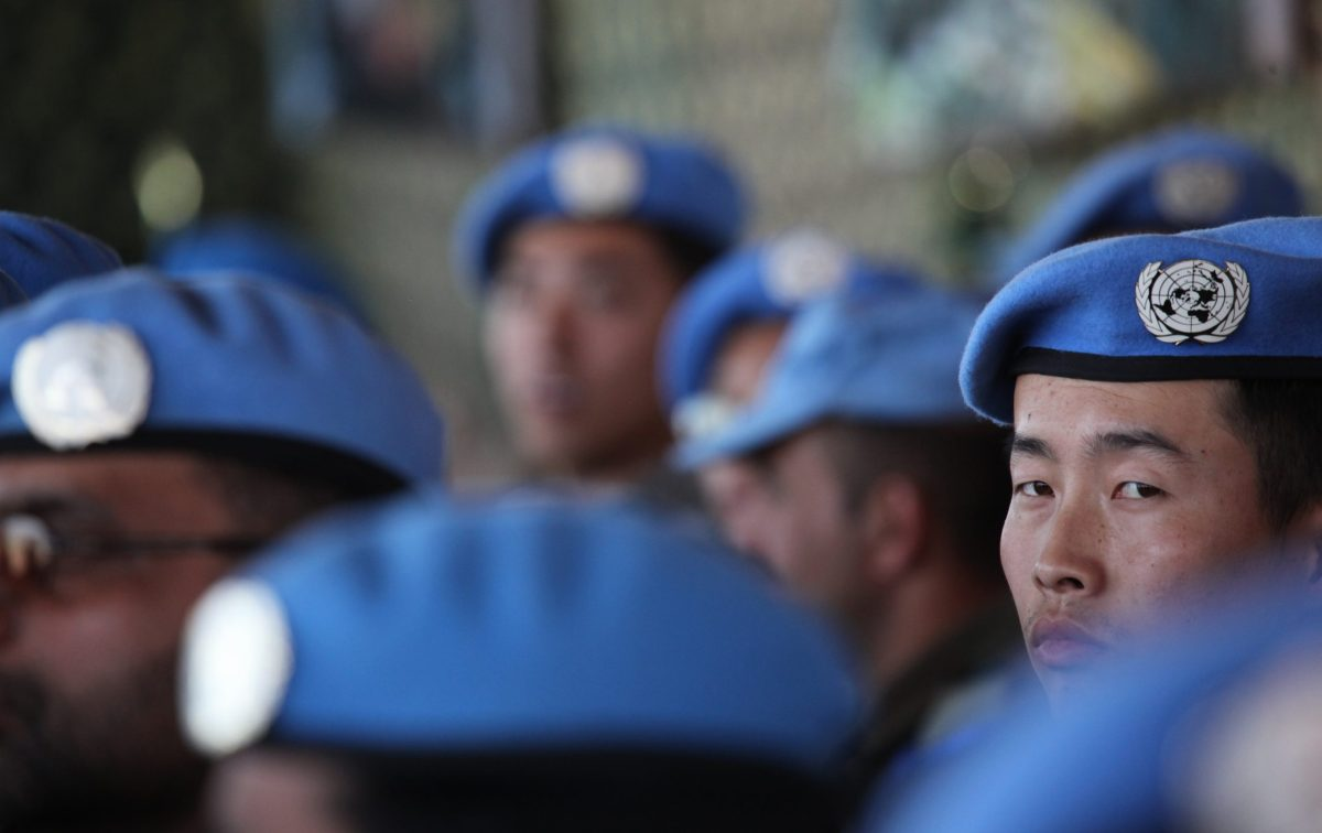 Chinese peacekeepers in the Democratic Republic of Congo. Photo: Wikimedia Commons