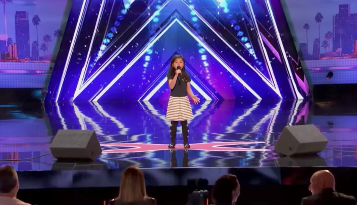 Celine Tam Tsz-kwan wins applause at America's Got Talent audition. Photo: America's Got Talent